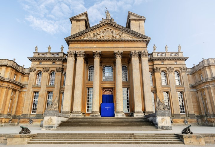 Blenheim Palace - Yves Klein Exhibition